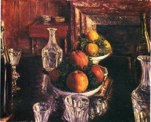 Reproduction oil paintings - Gustave Caillebotte - Still Life
