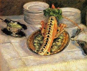 Still Life With Crayfish