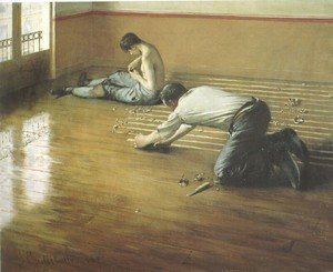 Gustave Caillebotte reproductions - The Floor Scrapers