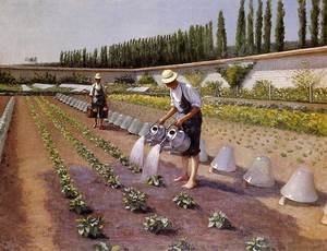 Reproduction oil paintings - Gustave Caillebotte - The Gardeners