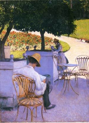 Reproduction oil paintings - Gustave Caillebotte - The Orange Trees