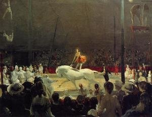 Ashcan School painting reproductions: The Circus