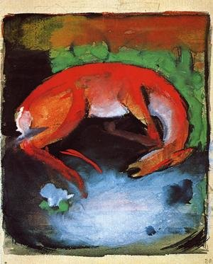 Reproduction oil paintings - Franz Marc - Dead Deer
