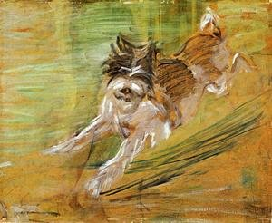 Expressionism painting reproductions: Jumping Dog Schlick