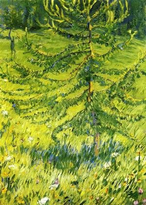 Expressionism painting reproductions: Larch Sapling