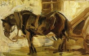 Expressionism painting reproductions: Small Horse Study