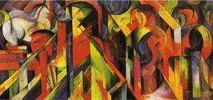 Franz Marc reproductions - Stables2