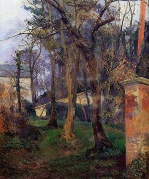 Reproduction oil paintings - Paul Gauguin - Abandoned Garden  Rouen