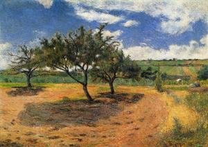 Reproduction oil paintings - Paul Gauguin - Apple Trees At L Hermitage