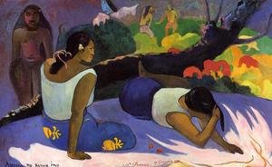 Reproduction oil paintings - Paul Gauguin - Arearea No Varua Ino