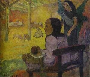 Reproduction oil paintings - Paul Gauguin - Baby Aka The Nativity