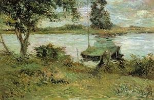 Reproduction oil paintings - Paul Gauguin - Banks Of The Oise