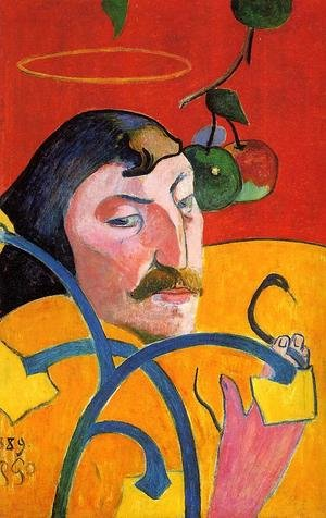 Reproduction oil paintings - Paul Gauguin - Caricature  Self Portrait
