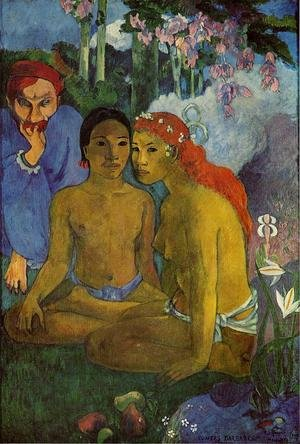 Reproduction oil paintings - Paul Gauguin - Contes Barbares Aka Primitive Tales