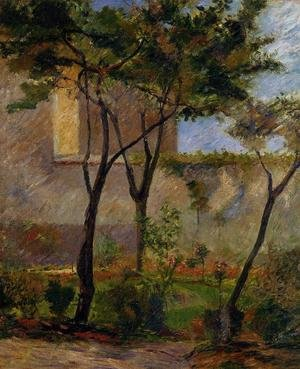 Reproduction oil paintings - Paul Gauguin - Corner Of The Garden  Rue Carcel