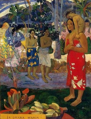 Paul Gauguin reproductions - Ia Orana Maria Aka Hail Mary