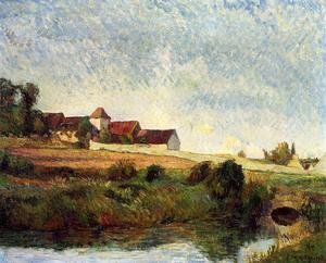 Reproduction oil paintings - Paul Gauguin - La Groue Farm  Osny