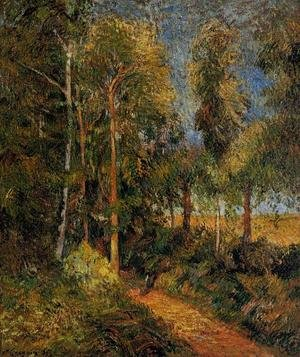 Reproduction oil paintings - Paul Gauguin - Lane Through The Beaches
