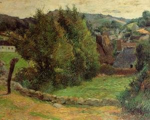 Reproduction oil paintings - Paul Gauguin - Mount Sainte Marguerite From Near The Presbytery