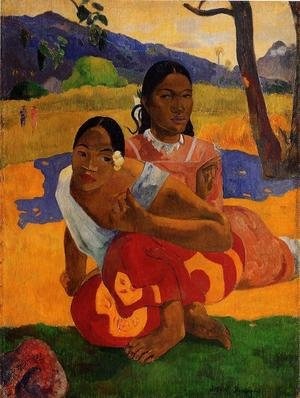Reproduction oil paintings - Paul Gauguin - Nafeaffaa Ipolpo Aka When Will You Marry