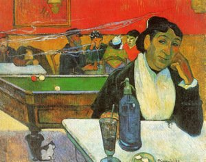 Reproduction oil paintings - Paul Gauguin - Night Cafe At Arles