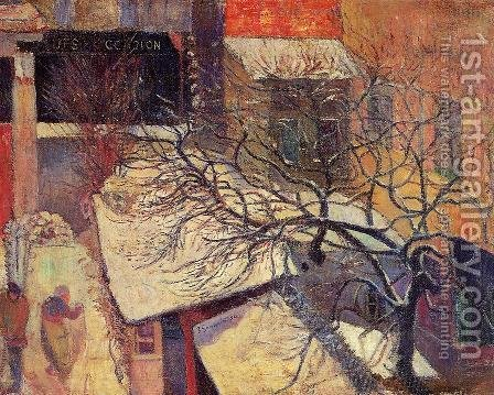 Paul Gauguin: Paris In The Snow - reproduction oil painting