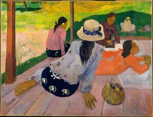 Reproduction oil paintings - Paul Gauguin - The Siesta