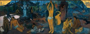 Reproduction oil paintings - Paul Gauguin - Where Do We Come From What Are We Doing Where Are We Going