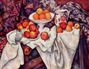 Reproduction oil paintings - Paul Cezanne - Apples And Oranges