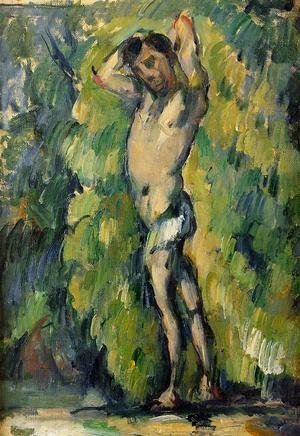 Reproduction oil paintings - Paul Cezanne - Bather