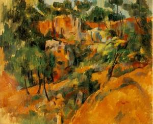 Reproduction oil paintings - Paul Cezanne - Corner Of The Quarry