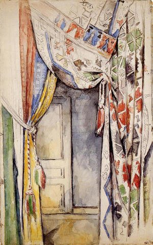 Reproduction oil paintings - Paul Cezanne - Curtains