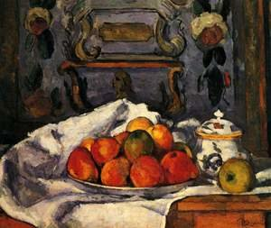 Reproduction oil paintings - Paul Cezanne - Dish Of Apples