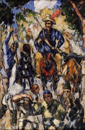 Reproduction oil paintings - Paul Cezanne - Don Quixote  Seen From The Front