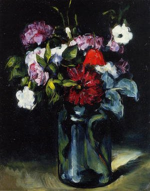 Reproduction oil paintings - Paul Cezanne - Flowers In A Vase