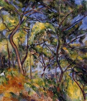 Reproduction oil paintings - Paul Cezanne - Forest