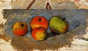 Reproduction oil paintings - Paul Cezanne - Four Apples
