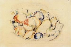 Reproduction oil paintings - Paul Cezanne - Fruits