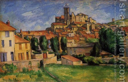 Gardanne by Paul Cezanne - Reproduction Oil Painting