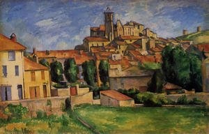 Reproduction oil paintings - Paul Cezanne - Gardanne