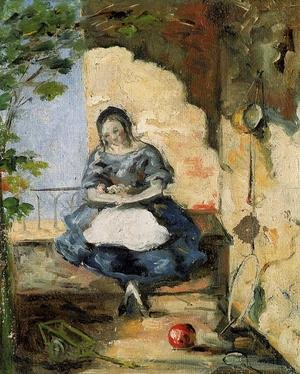 Reproduction oil paintings - Paul Cezanne - Girl