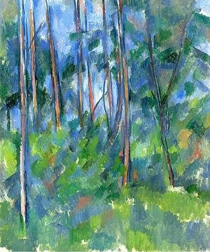 Reproduction oil paintings - Paul Cezanne - In The Woods3