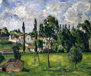 Reproduction oil paintings - Paul Cezanne - Landscape With A Canal