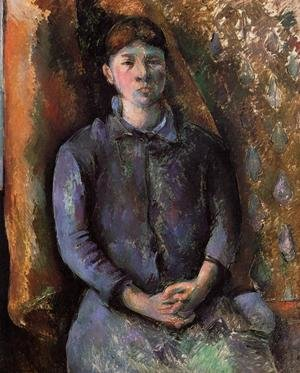 Reproduction oil paintings - Paul Cezanne - Madame Cezanne2