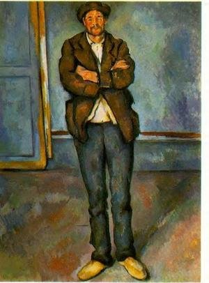 Reproduction oil paintings - Paul Cezanne - Man In A Room
