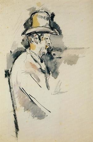 Reproduction oil paintings - Paul Cezanne - Man With A Pipe