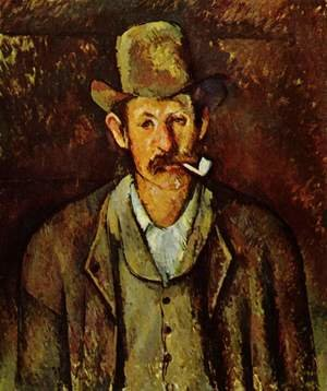 Reproduction oil paintings - Paul Cezanne - Man With A Pipe2
