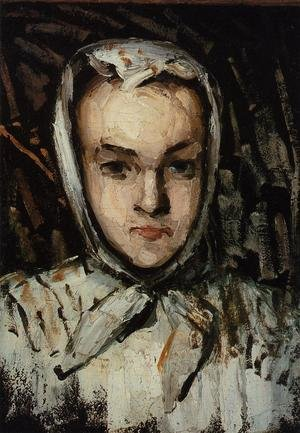 Reproduction oil paintings - Paul Cezanne - Marie Cezanne  The Artists Sister