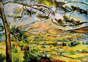 Reproduction oil paintings - Paul Cezanne - Mont Sainte Victoire (Courtauld)