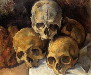 Famous paintings of Skeletons: Pyramid Of Skulls2